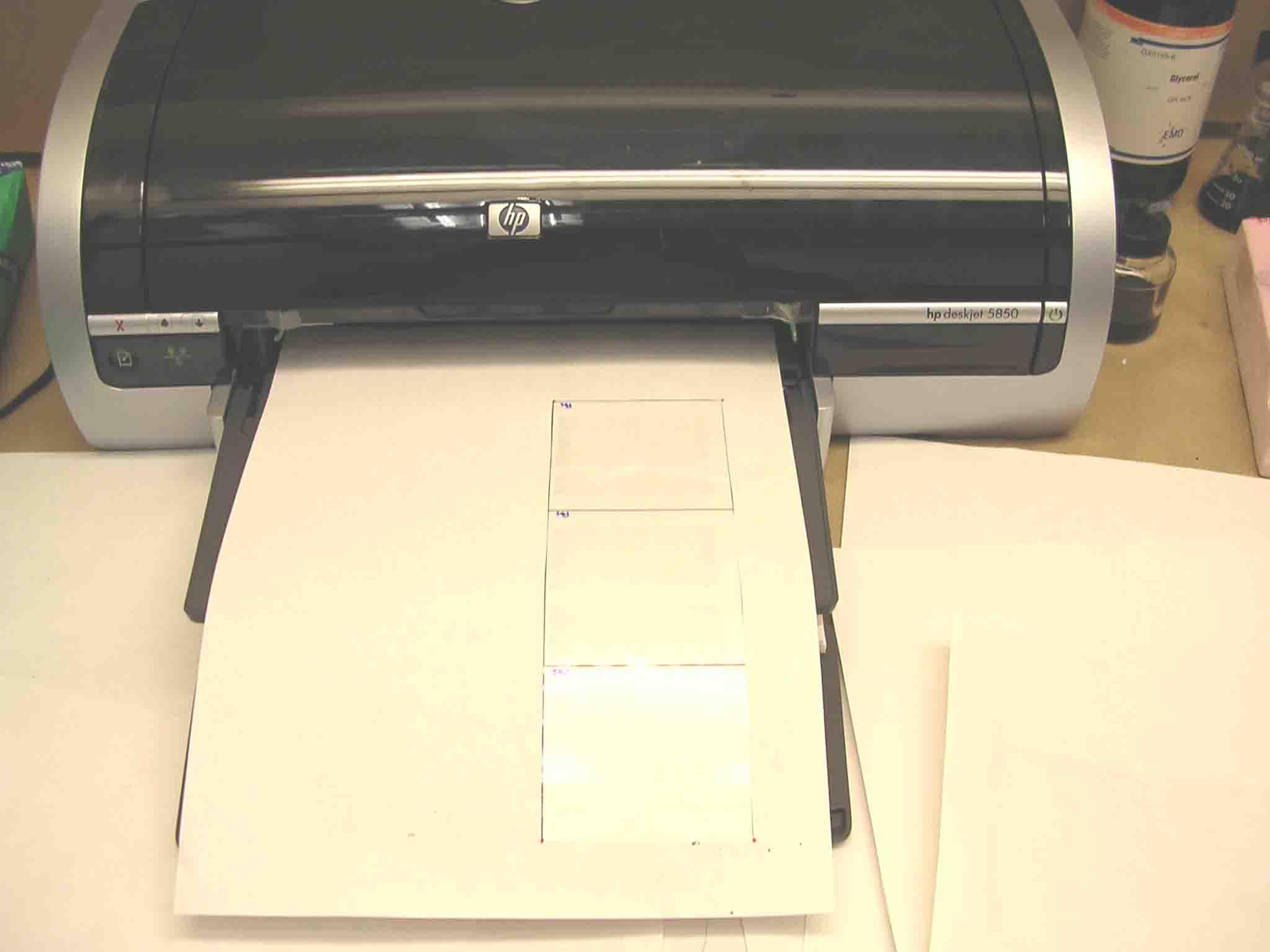 thesis printer