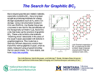 The Search for Graphitic BC3