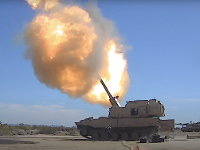 Extended Range Cannon Test of an Upgraded Howitzer